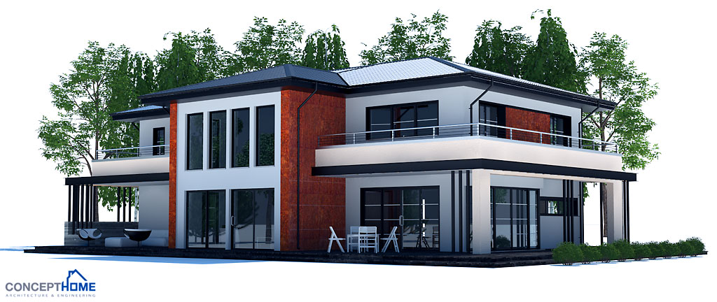 house design modern-house-plan-ch204 3