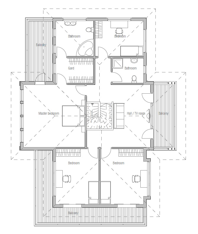 house design modern-house-plan-ch204 11