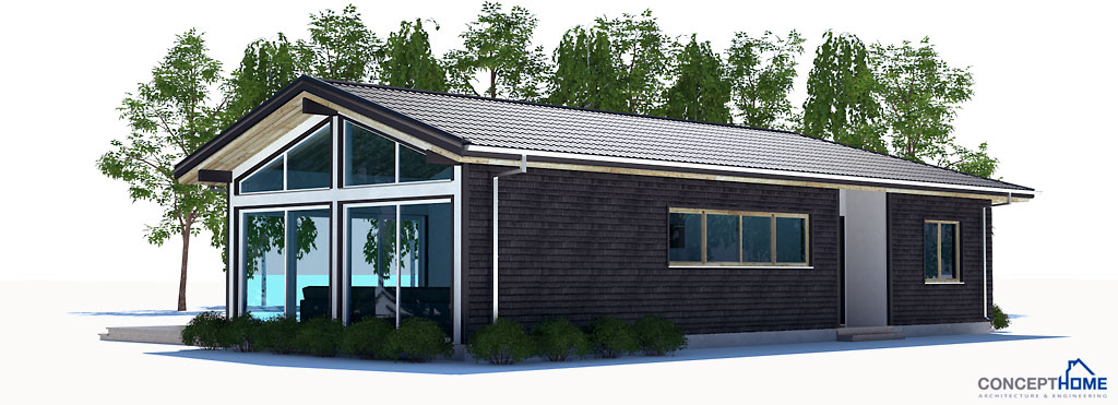 Small house plan with efficient room planning house plan for House plans to build under 100 000