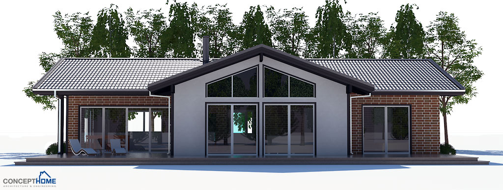 House Plan With Bedrooms Affordable To Build House Plan