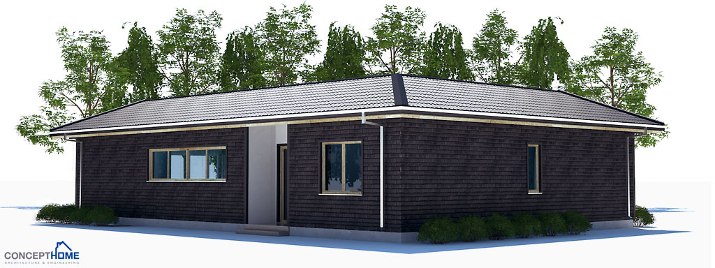 Affordable house plan with efficient room planning house plan for Cheap efficient homes