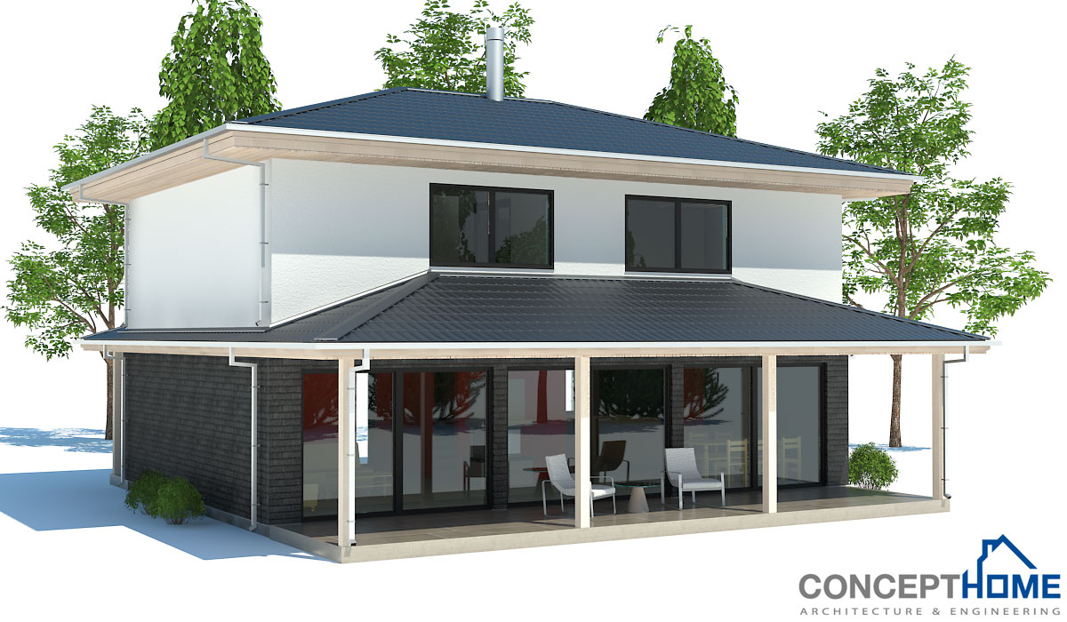 Affordable house plan with two bedrooms three bedrooms for Affordable bungalow house plans