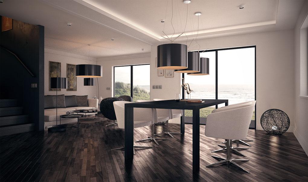 house design duplex-house-plan-ch135 2