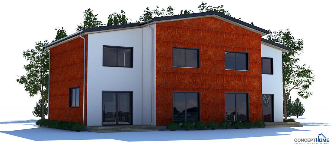 house design duplex-house-plan-ch135 5