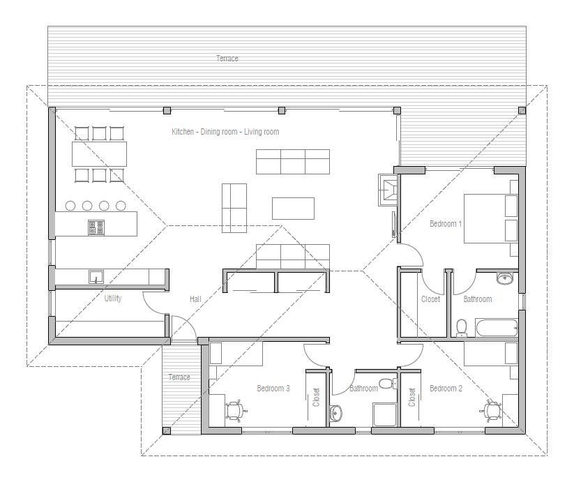 House floor plan 162 5 for 162 plan