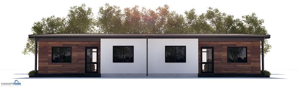 Duplex House Plan Ch265d House Plan