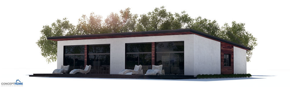 house design duplex-house-plan-ch263D 4
