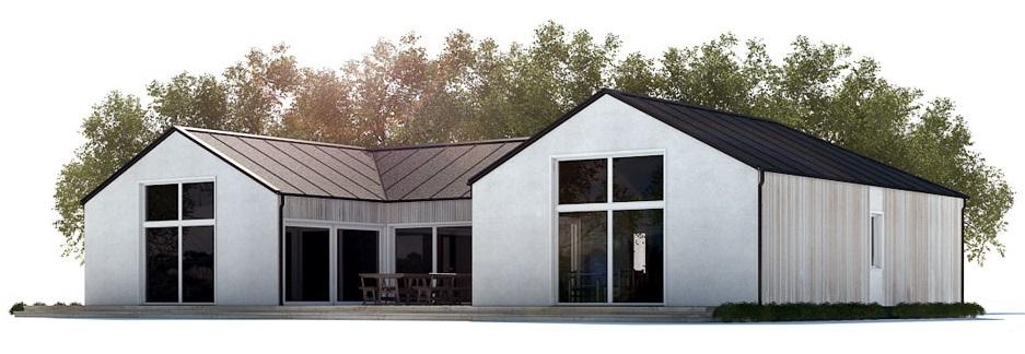 Small House Plan Open Planning Modern Farmhouse House Plan