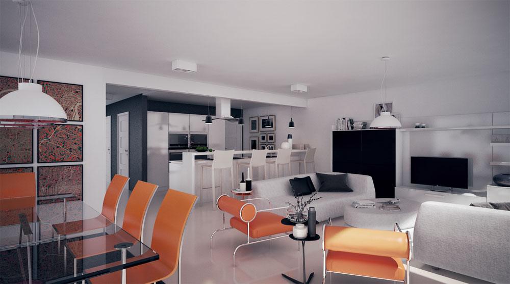 Duplex House Plan Ch284 House Plan