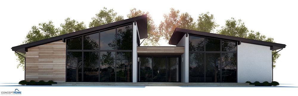 Modern House Plan CH286