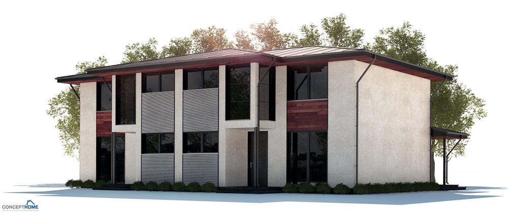 Duplex House Plan Ch250