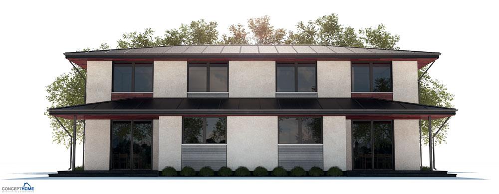 Duplex House Plan Ch250 House Plan
