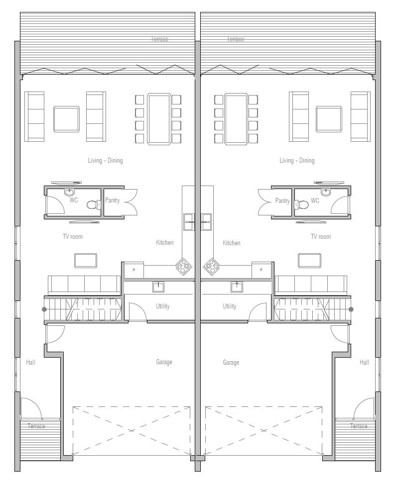 House Floor Plan 444