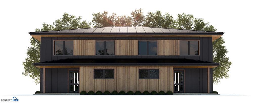 Duplex House Plan Ch191d House Plan