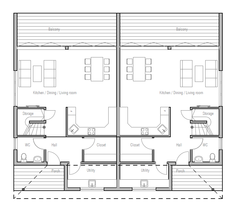 house design duplex-house-ch191d 10