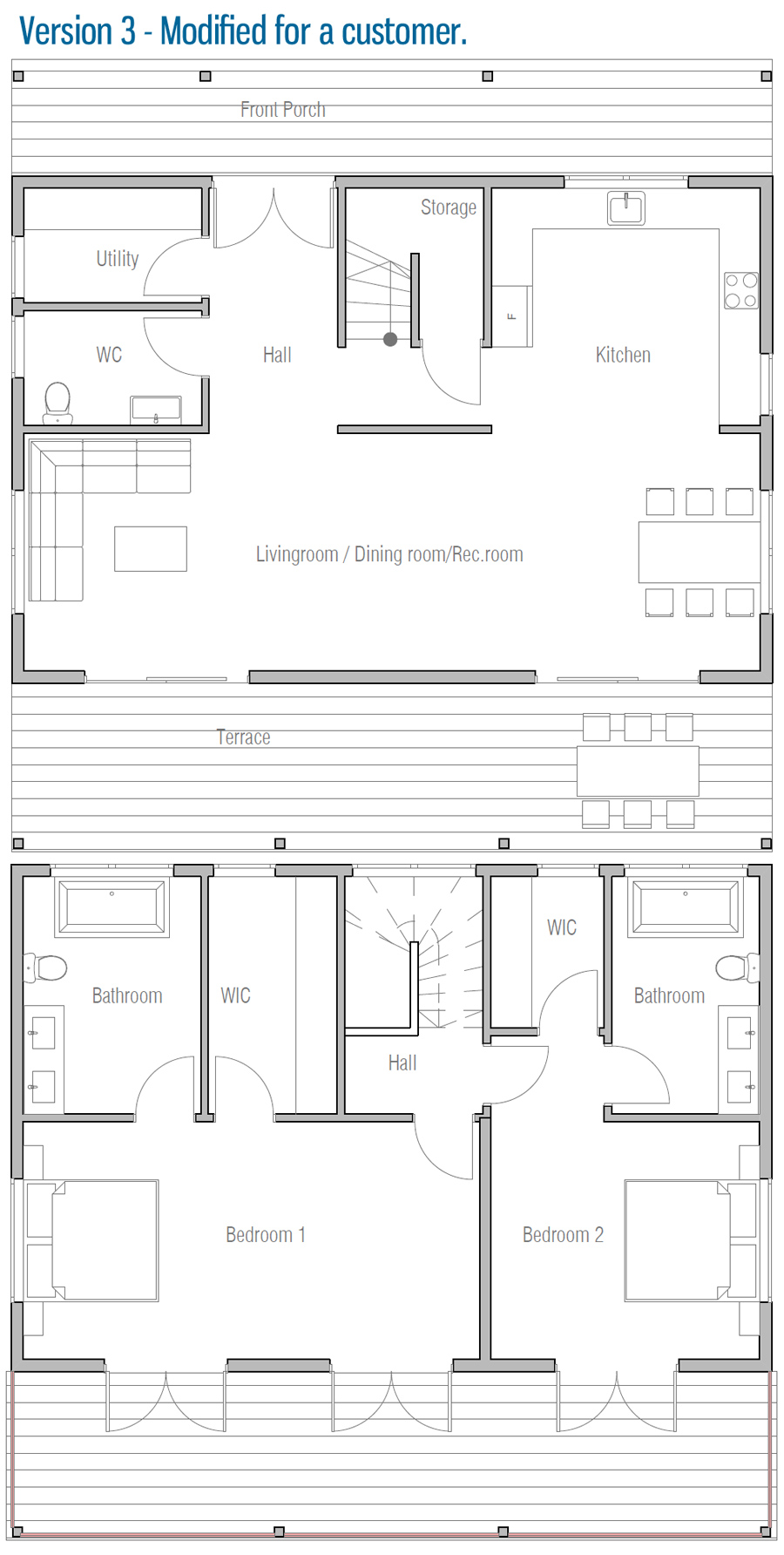 House plan ch314 house plan for House plans to build under 100 000