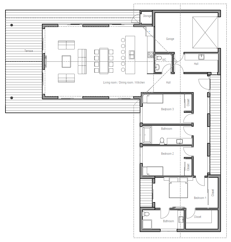 House Plan Ch331 House Plan