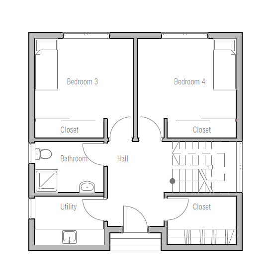 House Plan Ch345 House Plan