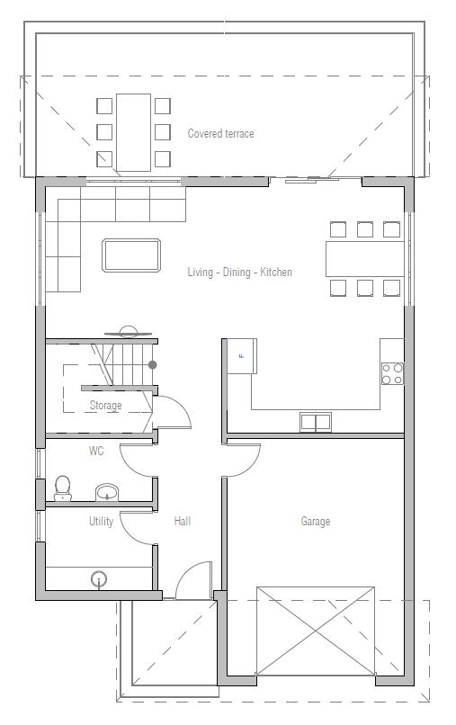 House Plan Ch351 House Plan