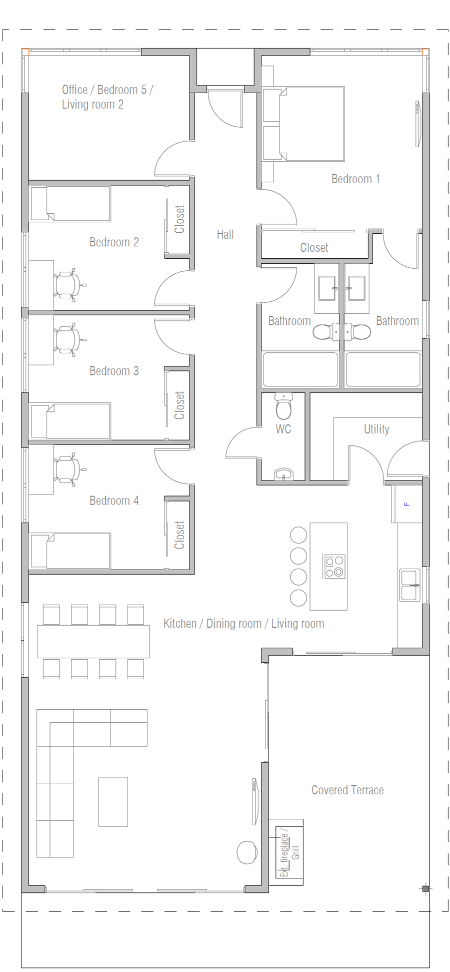 house design house-plan-ch535 10