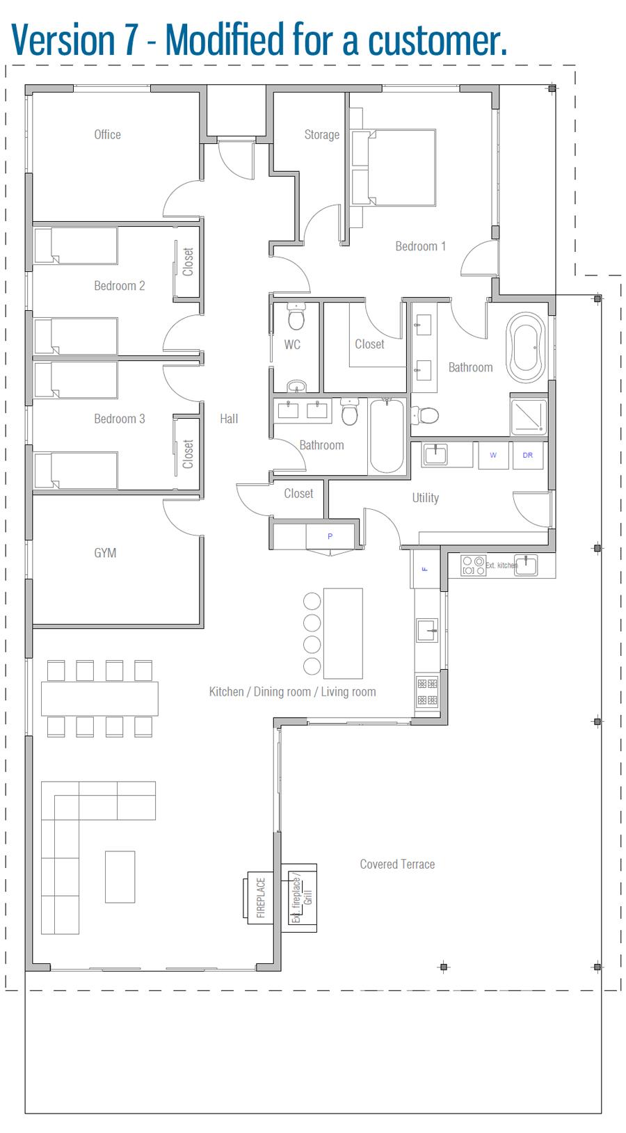 house design house-plan-ch535 45
