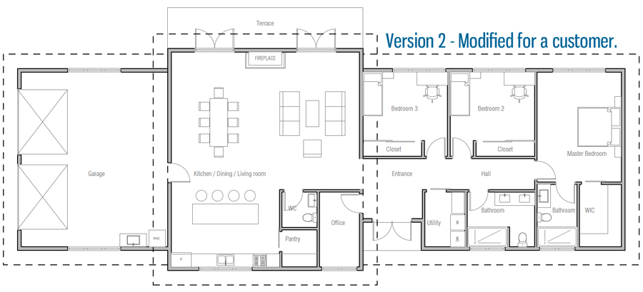 house design house-plan-ch367 20