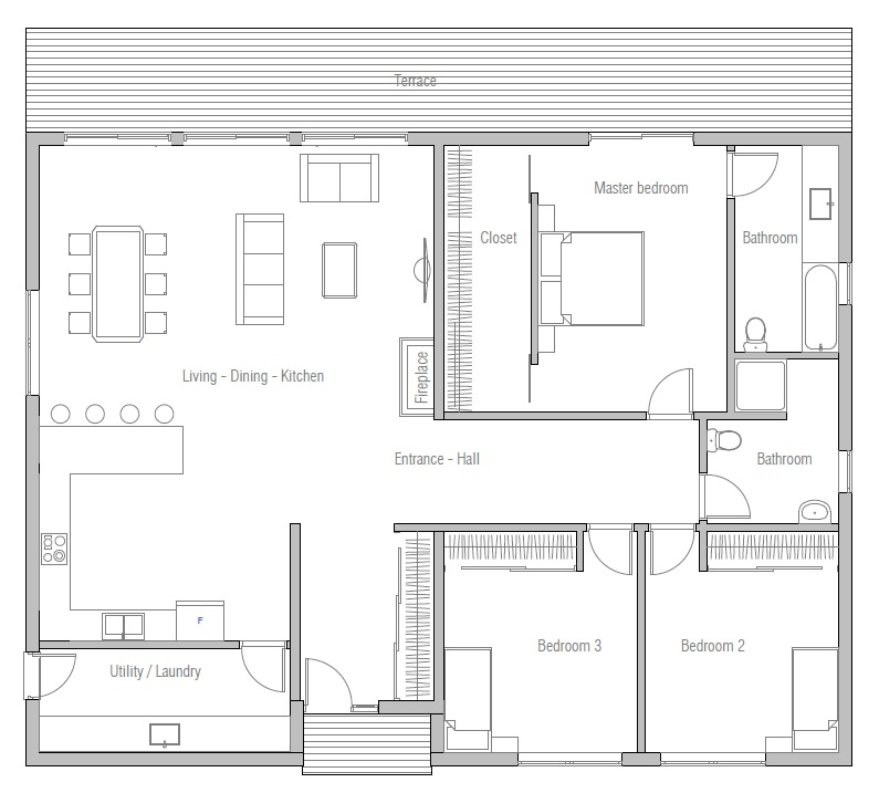 House floor plan 164 7 for 2000 sq ft gym layout