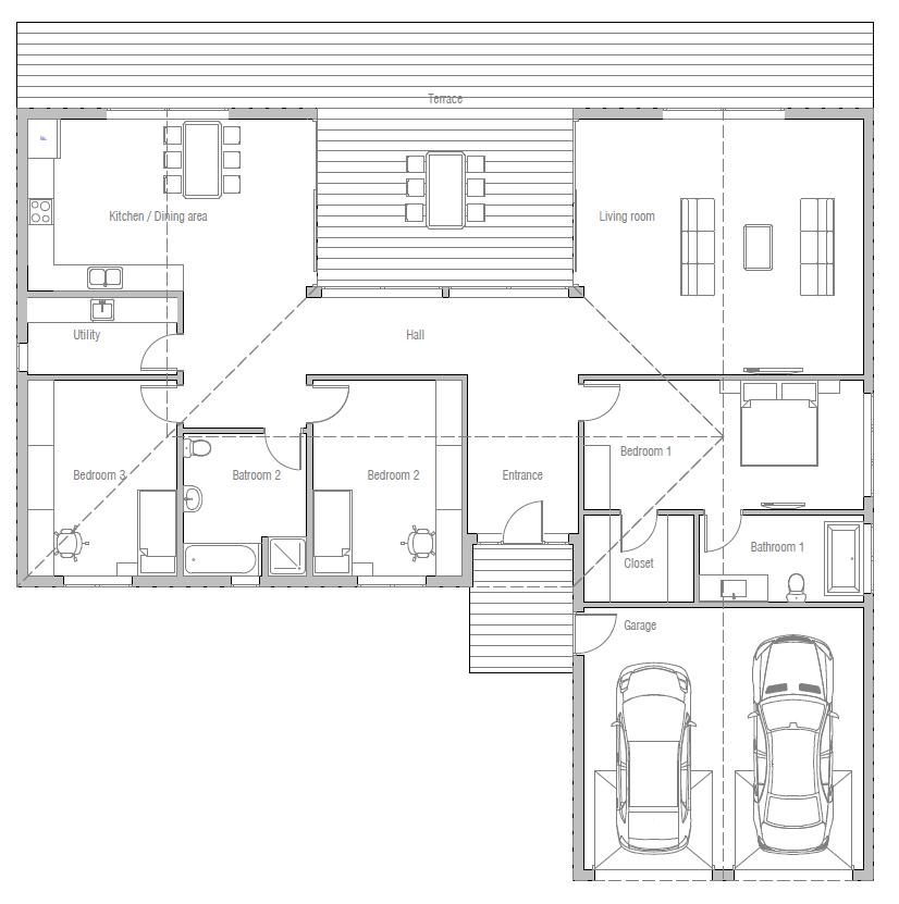 house design house-plan-ch388 10