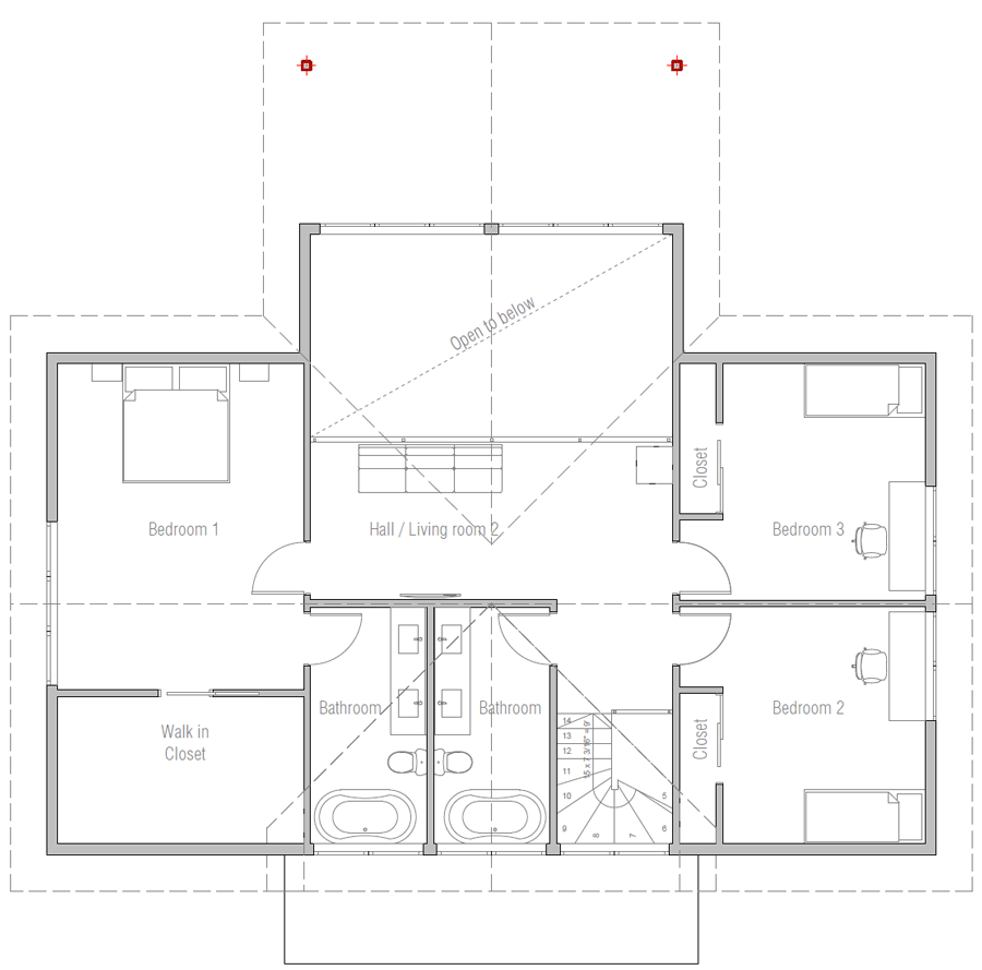 house design house-plan-ch549 11
