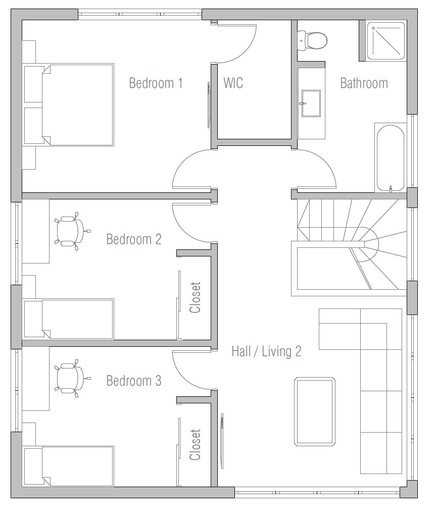 House Plan Ch404 House Plan