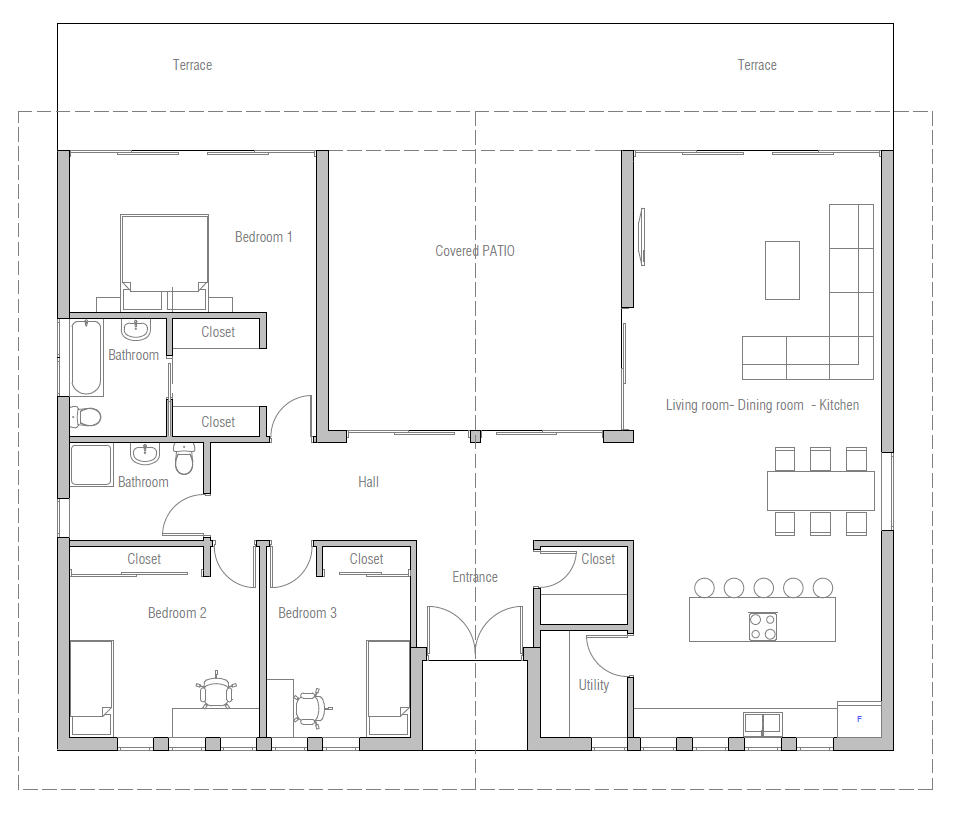 House Plan Ch401 House Plan