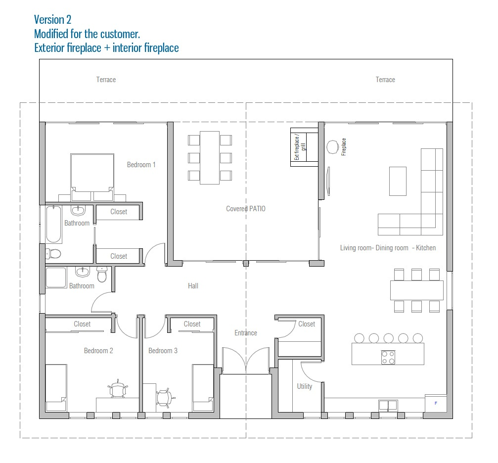 House plan ch401 house plan for Affordable house plans