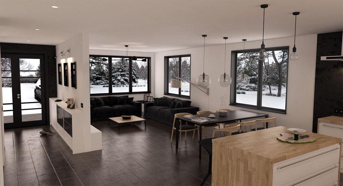 Duplex House Plan Ch404d House Plan