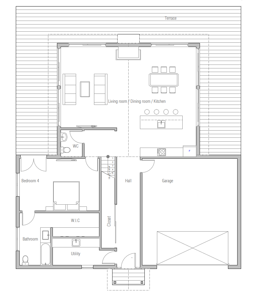 house design house-plan-ch413 10