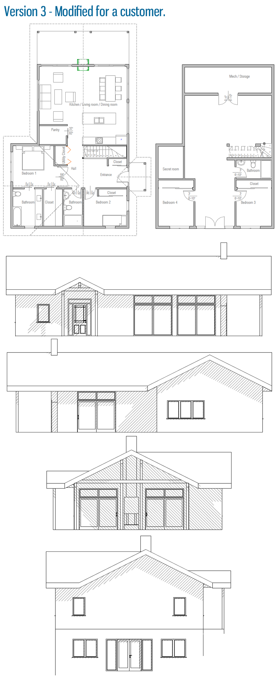 House floor plan 221 for 221 armstrong floor plans