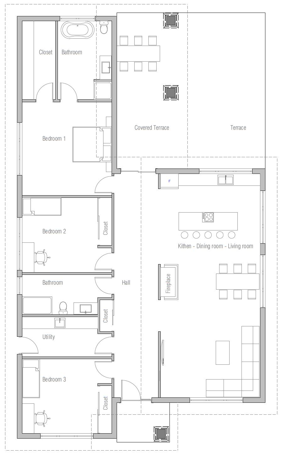 House Plan CH248 House Plan
