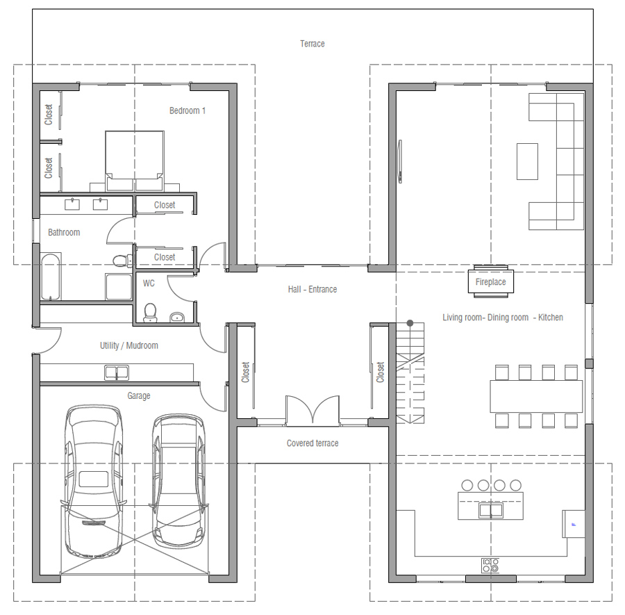 house design house-plan-ch445 10