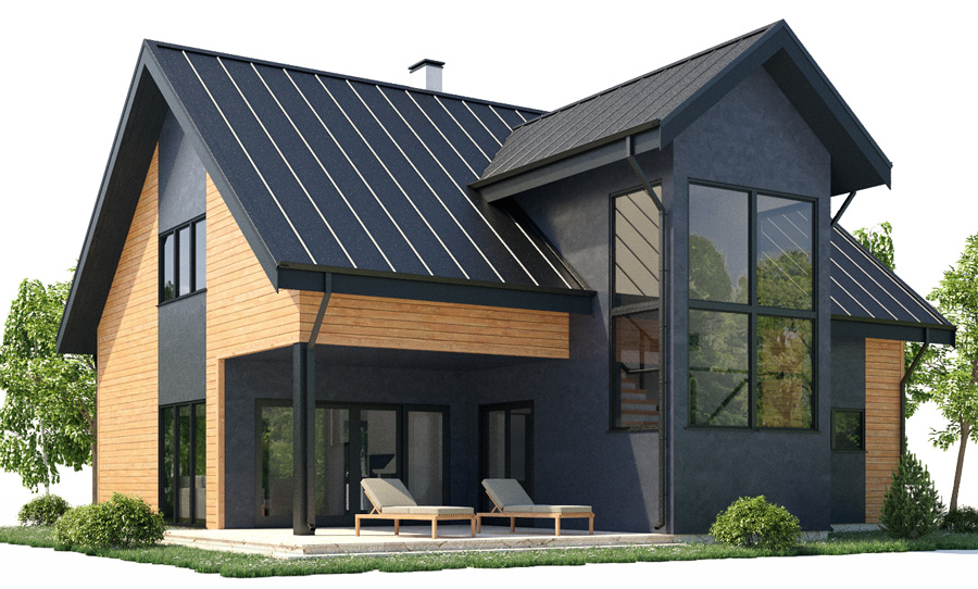 House plan ch382 for Concept home plans review