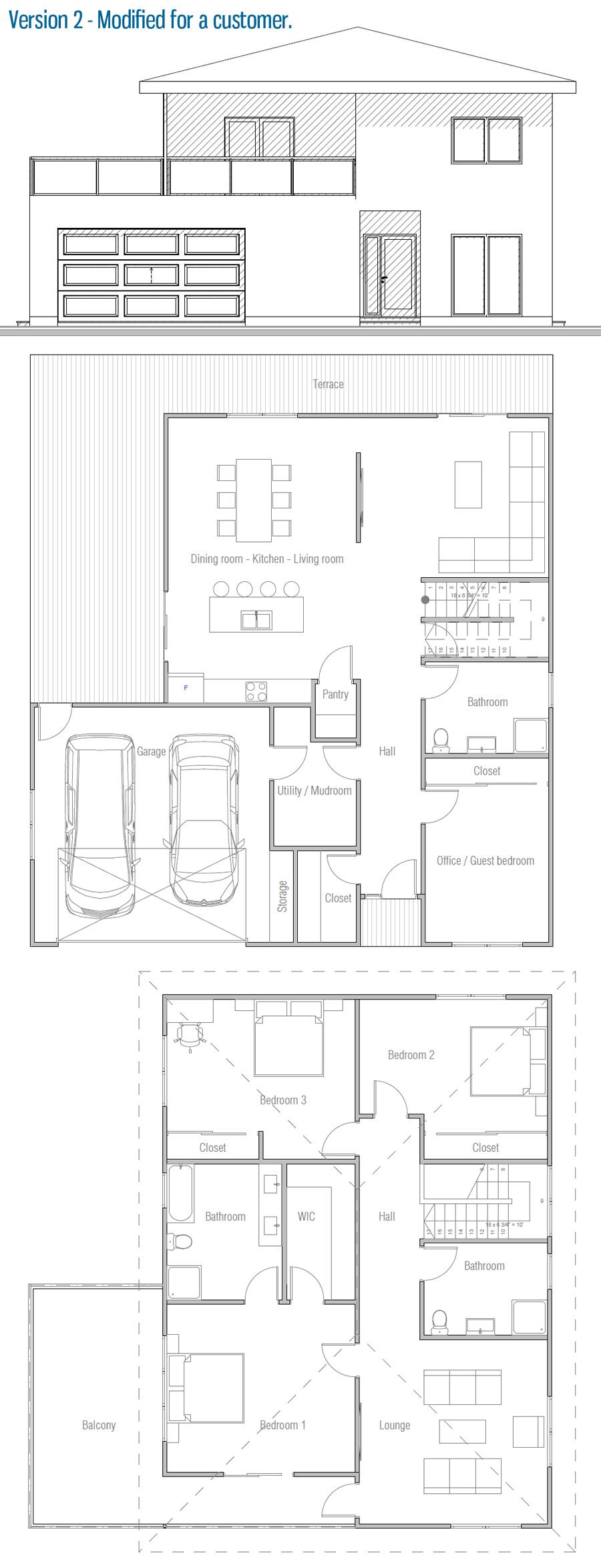 house design house-plan-ch449 20