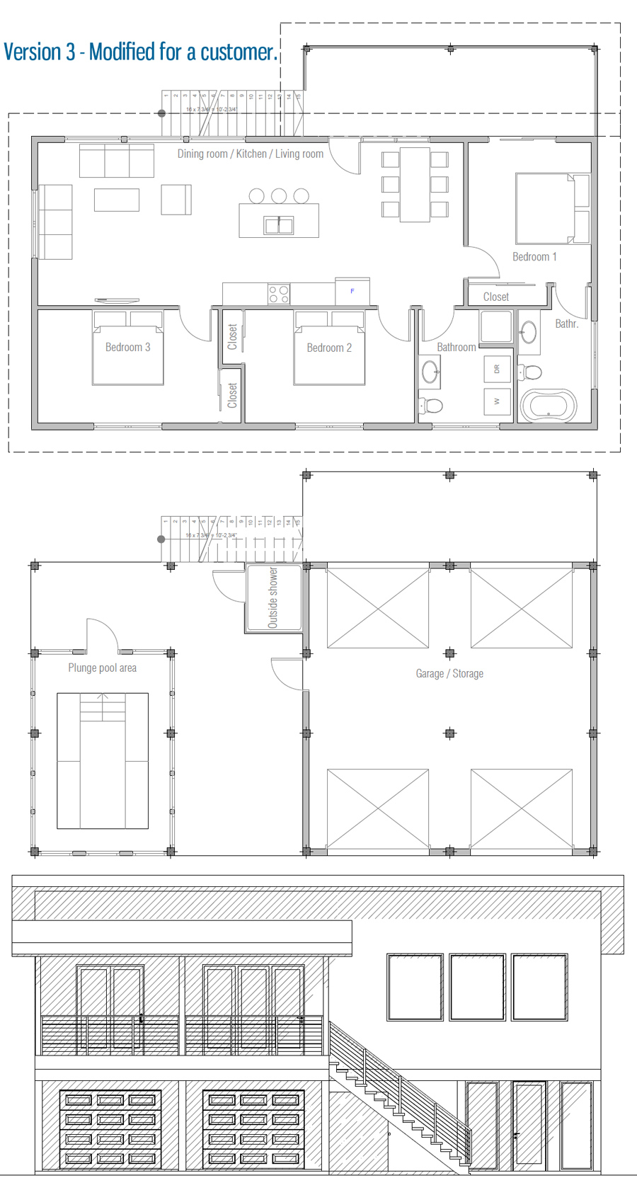 house design house-plan-ch452 45