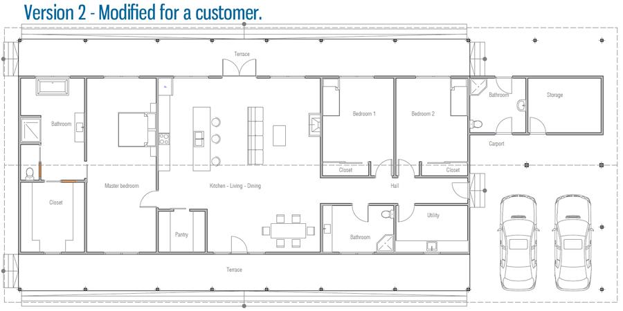 house design house-plan-ch453 45