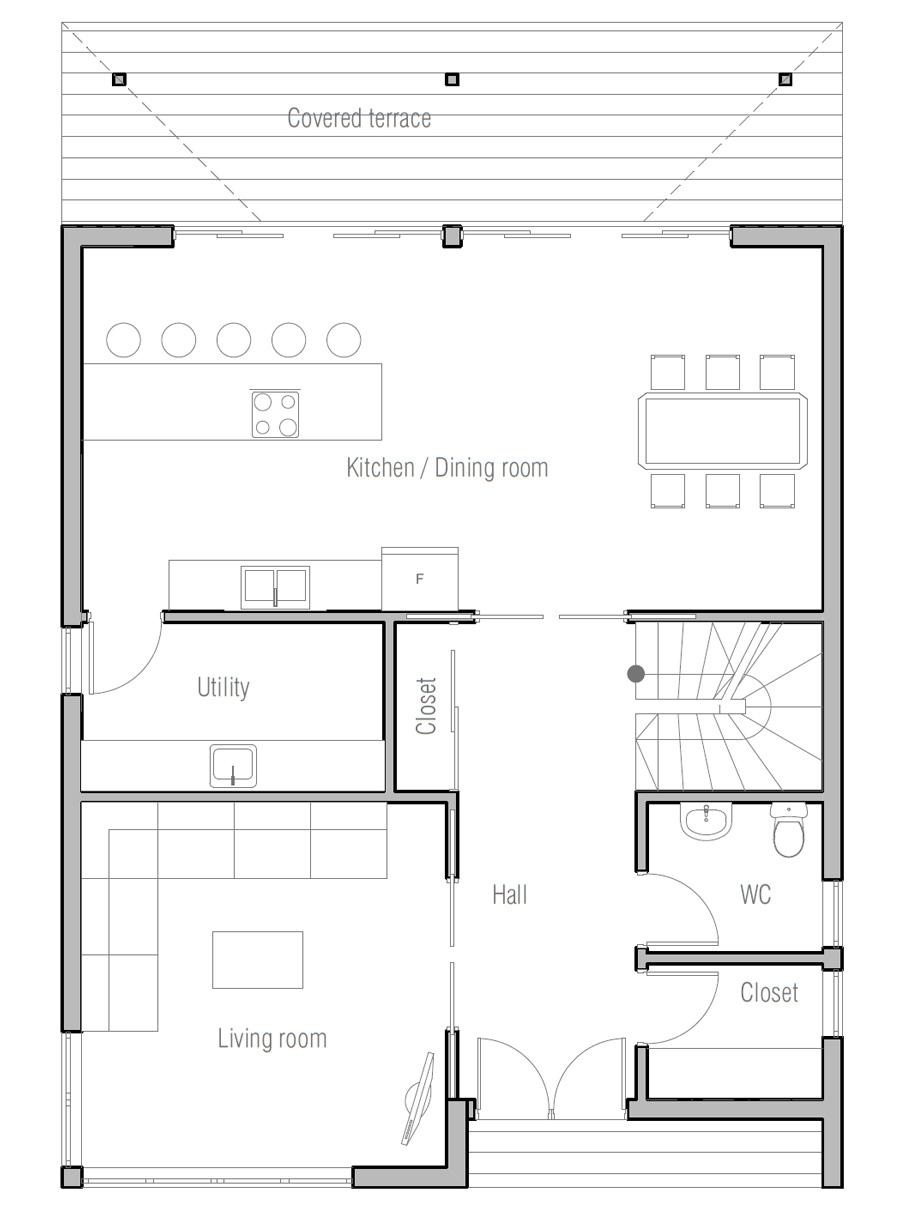 house design house-plan-ch354 10