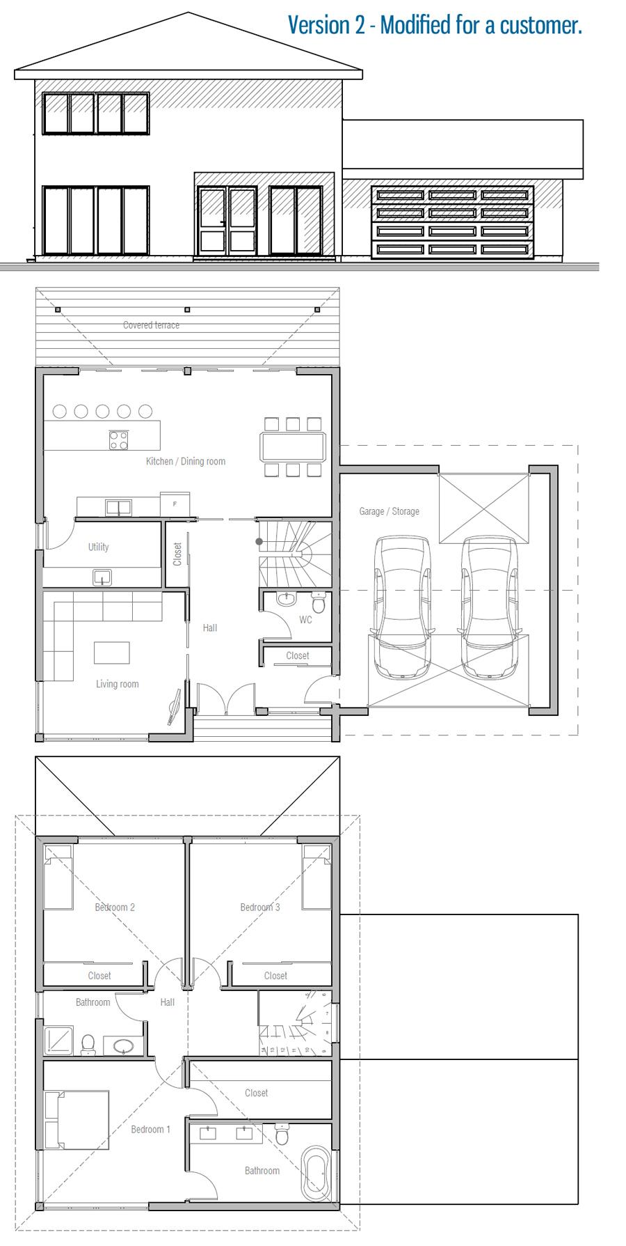 house design house-plan-ch354 50