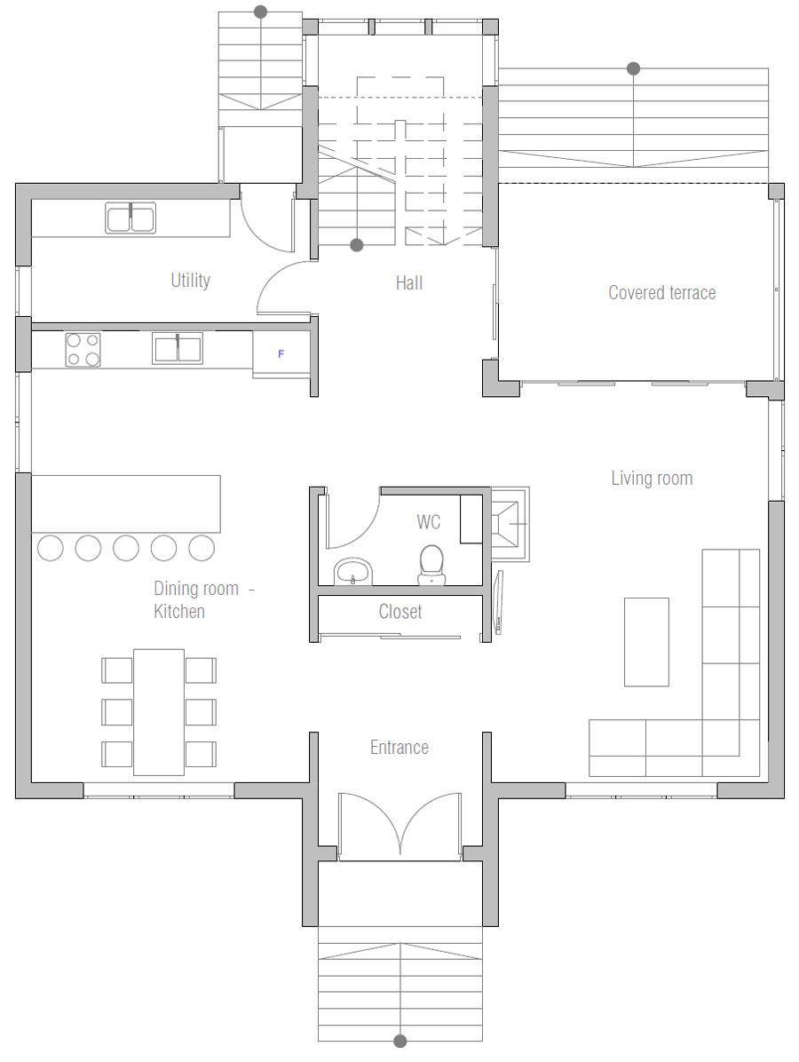 Home Plan Ch460 House Plan