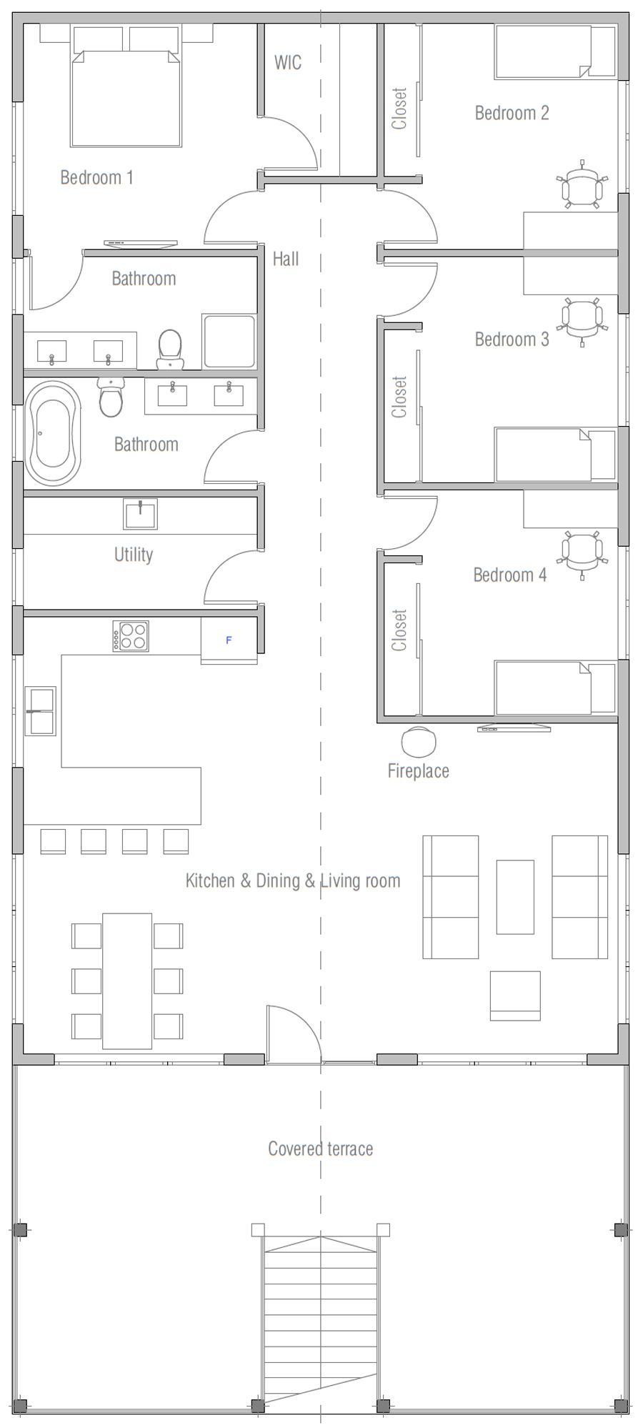 house design house-plan-ch462 10