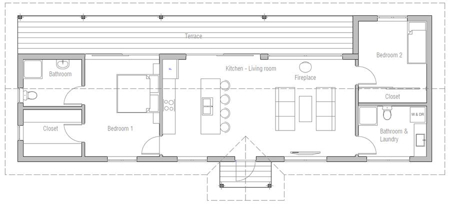 Home Plan Ch468 House Plan