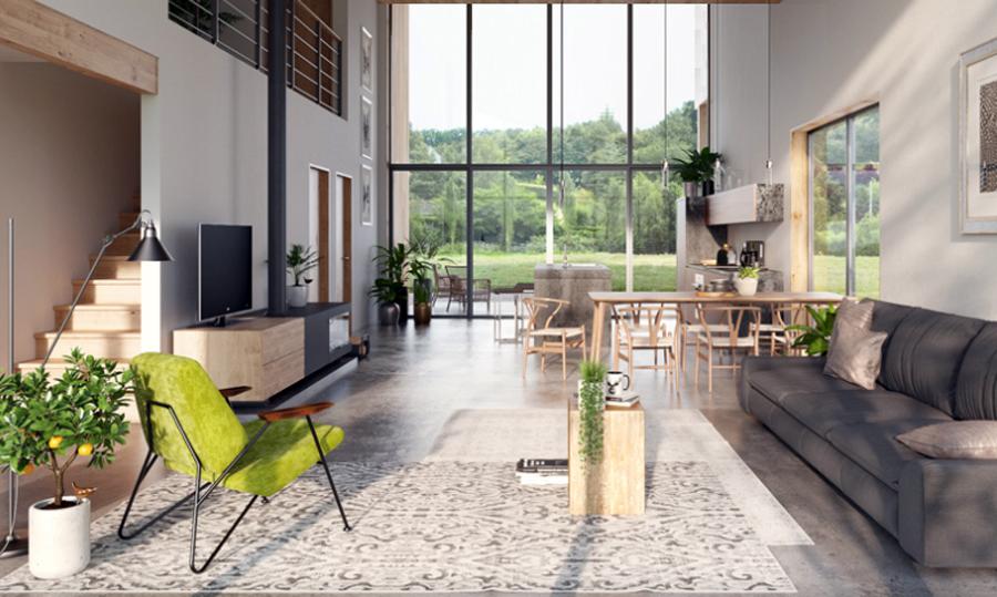 house design duplex-house-plan-ch429d 2