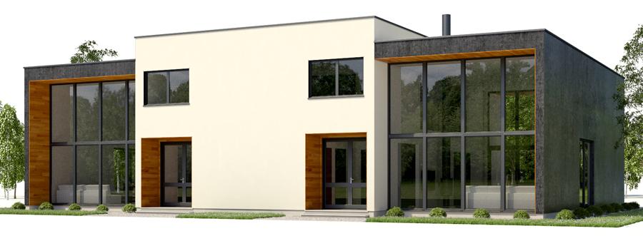 house design duplex-house-plan-ch429d 3