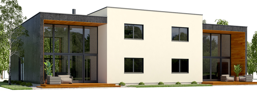 house design duplex-house-plan-ch429d 4