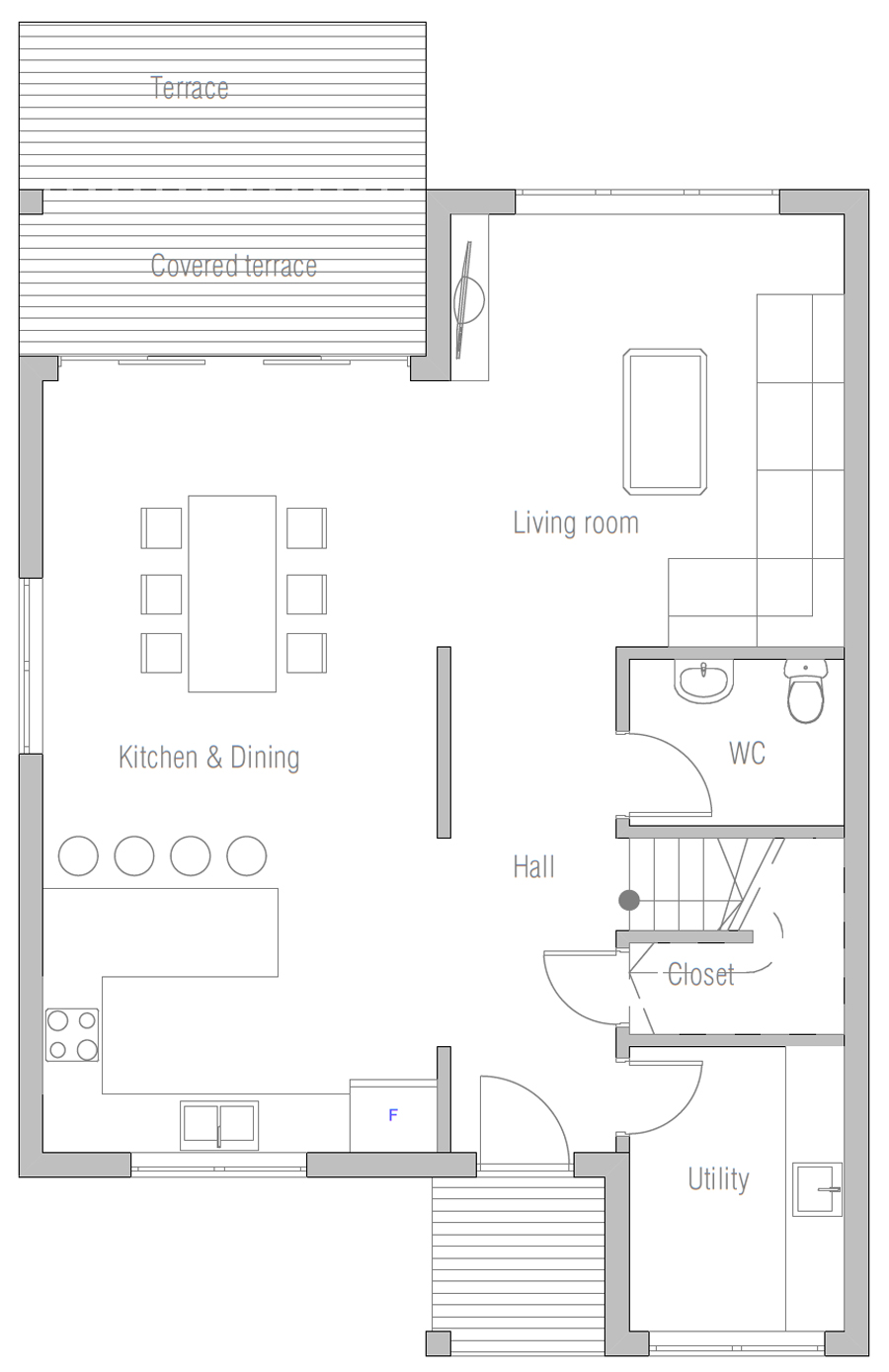 house design house-plan-ch471 10